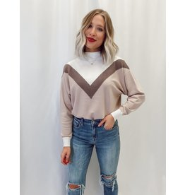 The Known About You Mock Neck Sweater