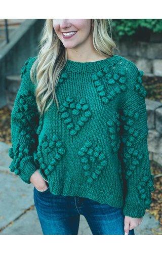 Wishlist Full Hearts Sweater