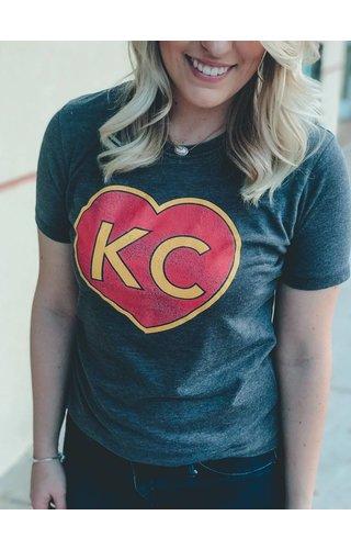 KC Heart Tee