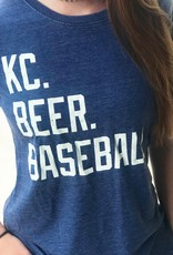 Women's Fit: KC. BEER. BASEBALL