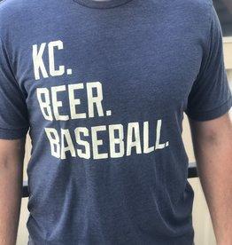 Men's Fit: KC. BEER. BASEBALL