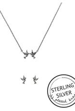 KITSCH Jewelry Box Set: Peace, Love, & Harmony - Silver
