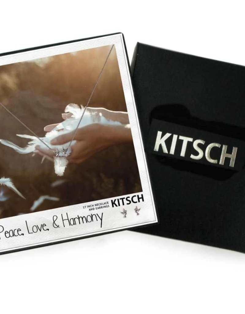 KITSCH Jewelry Box Set: Peace, Love, & Harmony - Gold