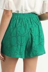 Eylet Fabric Shorts