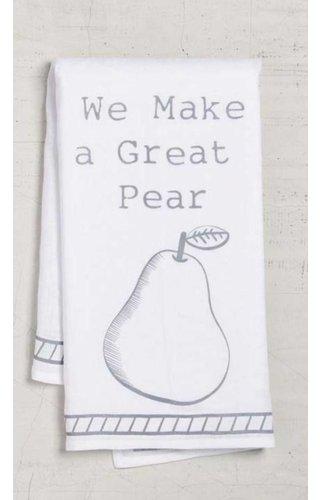 Great Pear Dishtowel
