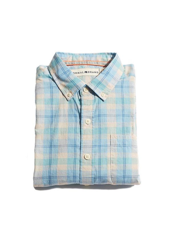 Slub Button Down