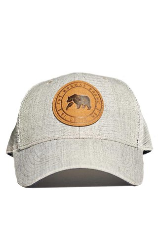 Leather Patch Trucker Cap
