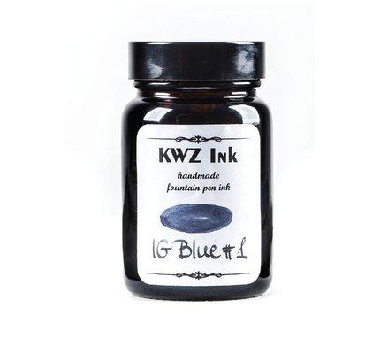 Kwz Ink Kwz Iron Gall Bottled Ink 60ml Blue #1