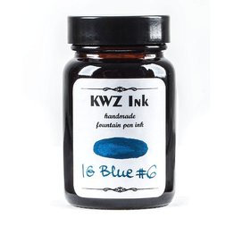 Kwz Ink Kwz Iron Gall Bottled Ink 60ml Blue #6