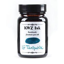 Kwz Ink Kwz Iron Gall Bottled Ink 60ml Turquoise
