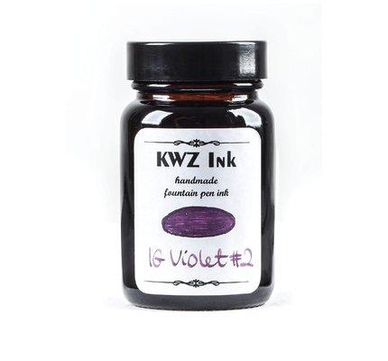 Kwz Ink Kwz Iron Gall Bottled Ink 60ml Violet #2