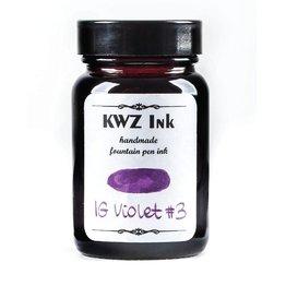Kwz Ink Kwz Iron Gall Bottled Ink 60ml Violet #3