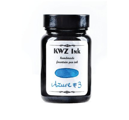 Kwz Ink Kwz Standard Bottled Ink 60ml Azure #3
