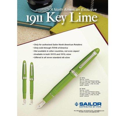 Sailor Sailor 1911S Standard Key Lime Fountain Pen