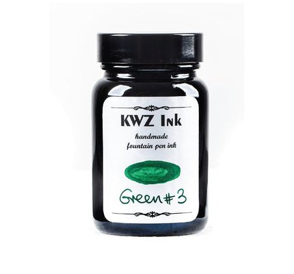 Kwz Ink Kwz Standard Bottled Ink 60ml Green #3