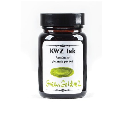 Kwz Ink Kwz Standard Bottled Ink 60ml Green Gold #2