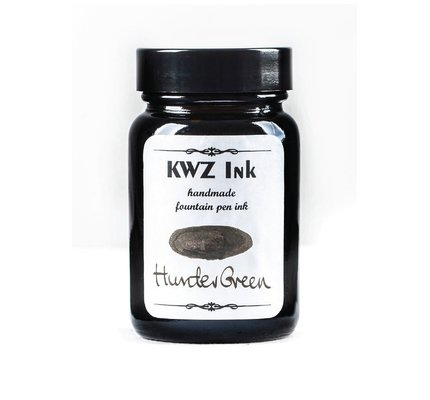 Kwz Ink Kwz Standard Bottled Ink 60ml Hunter Green