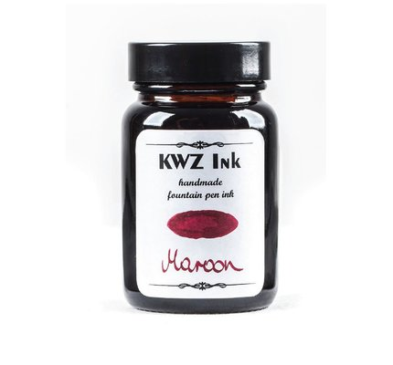 Kwz Ink Kwz Standard Bottled Ink 60ml Maroon