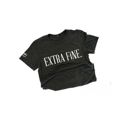Dromgooles Dromgoole's Grey Extra Fine T-Shirt