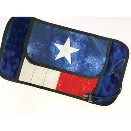 Rickshaw Dromgoole Exclusive Deluxe 6 Pen Roll Texas Flag