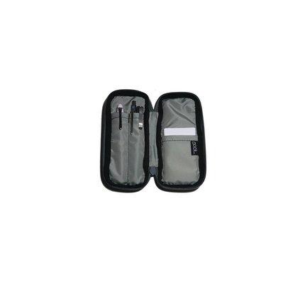 Nock Nock Tallulah Raven/Silver/Dust 2 Pen Case