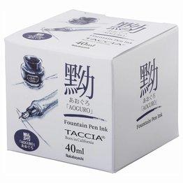 Taccia Taccia Aoguro Blue-Black 40ml Bottled Ink