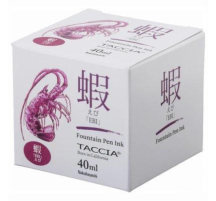 Taccia Taccia Ebi Purple Red 40ml Bottled Ink