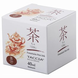 Taccia Taccia Cha Brown 40ml Bottled Ink