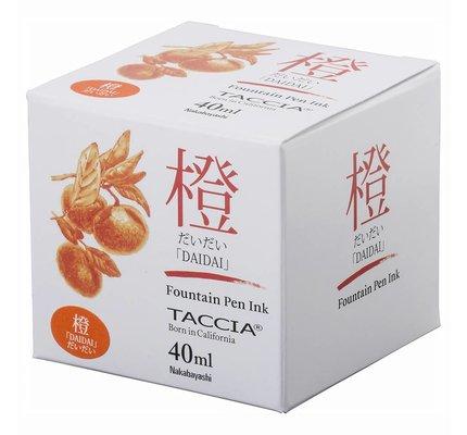 Taccia Taccia Daidai Orange 40ml Bottled Ink