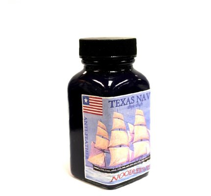 Noodler's DROMGOOLE'S EXCLUSIVE NOODLER'S TEXAS NAVY - 3OZ BOTTLED INK