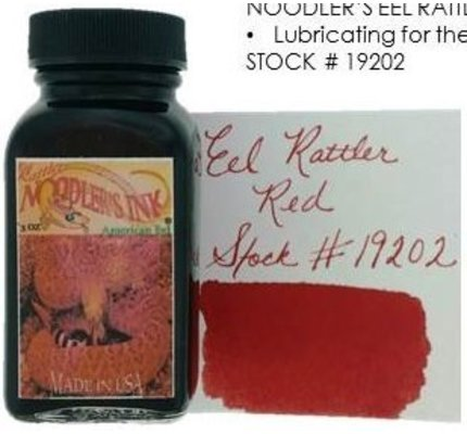Noodler's Noodler's American Eel Rattler Red - 3oz Bottled Ink