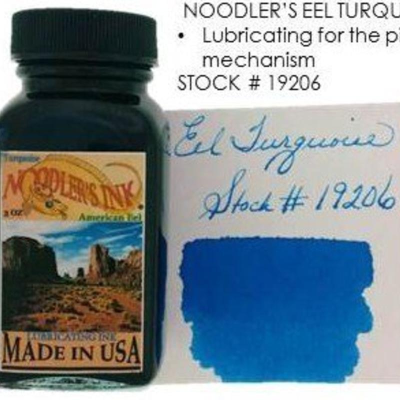 Noodler's Noodler's American Eel Turquoise - 3oz Bottled Ink