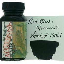 Noodler's Noodler's Bad Black Moccasin - 3oz Bottled Ink