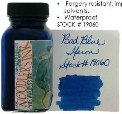 Noodler's Noodler's Bad Blue Heron - 3oz Bottled Ink