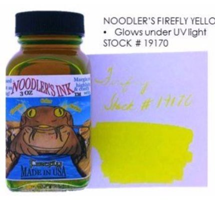 Noodler's Noodler's Firefly Yellow - 3oz Bottled Ink