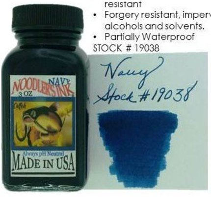 Noodler's Noodler's Navy - 3oz Bottled Ink