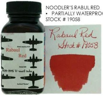 Noodler's Noodler's Rabaul Red - 3oz Bottled Ink