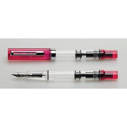 Twsbi Twsbi Special Edition Eco Transparent Fountain Pen Blossom Red