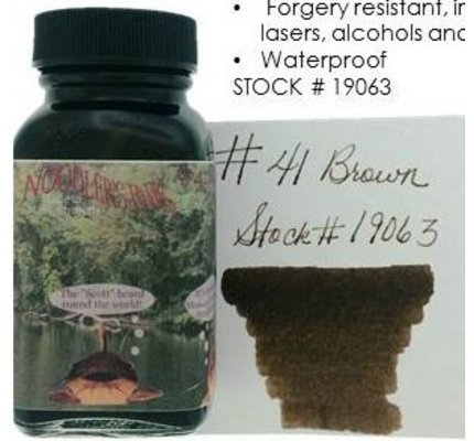 Noodler's Noodler's #41 Brown - 3oz Bottled Ink