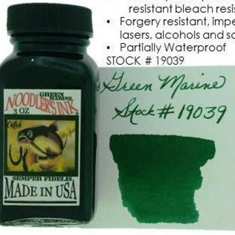 Noodler's Noodler's Green Marine - 3oz Bottled Ink