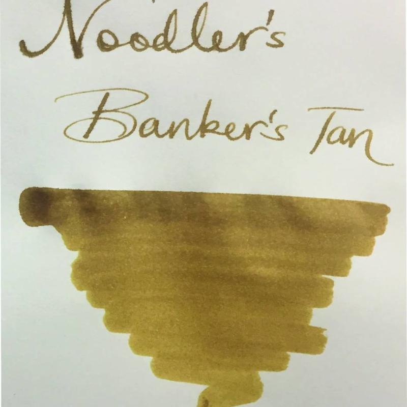Noodler's Dromgoole's Exclusive Noodler's Bankers Tan -