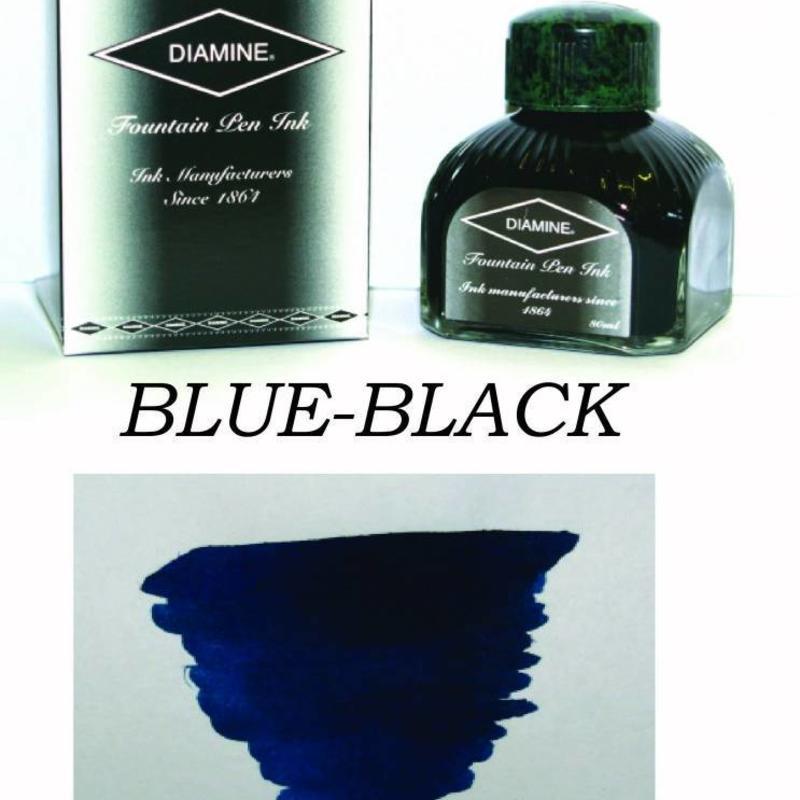 Diamine Diamine Blue-Black - 80ml Bottled Ink
