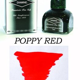 Diamine Diamine Poppy Red - 80ml Bottled Ink