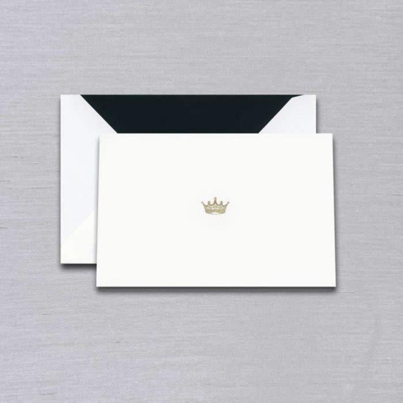 Vera Wang Black Crown Engraved