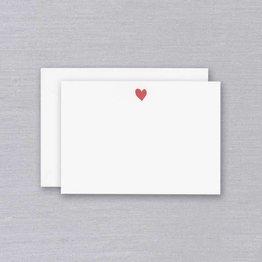 William Arthur William Arthur White Sweet Heart Card