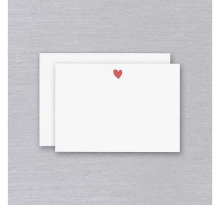 William Arthur White Sweet Heart Card