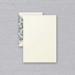 Crane Crane Ecru Blue Florentine Half Sheet