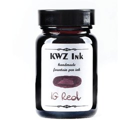 KWZ Ink Kwz Iron Gall Red - 60ml Bottled Ink