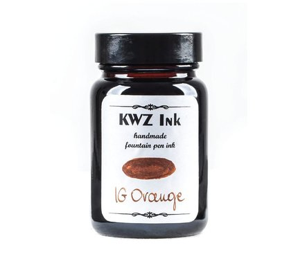 KWZ Ink Kwz Iron Gall Orange - 60ml Bottled Ink