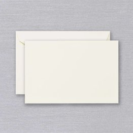 Crane Crane Ecru Correspondence Card